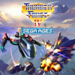 Sega Ages Thunder Force IV, Space Harrier, Gain Ground, Thunder Force Ac & Columns II: A Voyage Through Time für je 3,99€ (eShop)