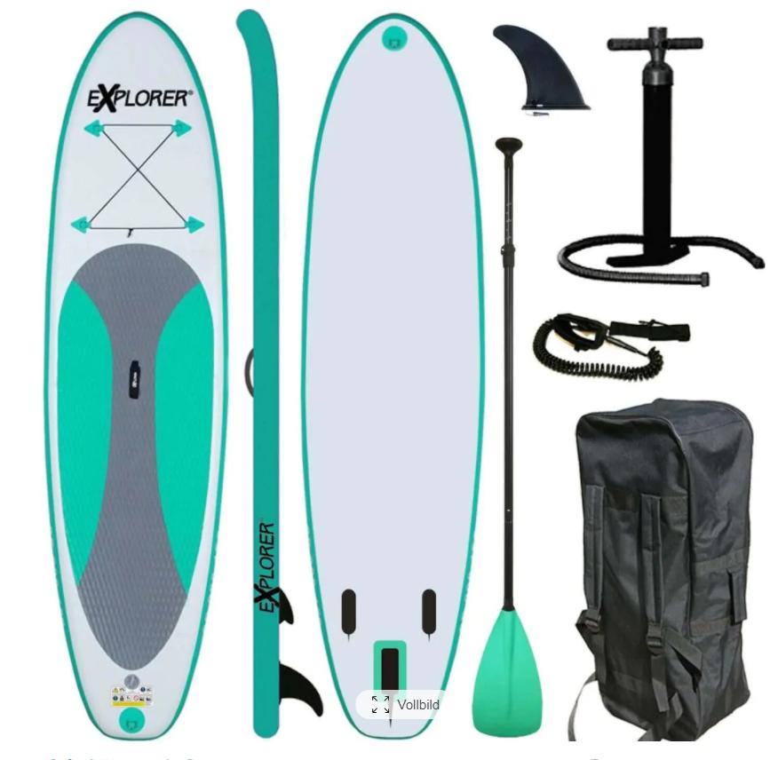 EXPLORER Inflatable SUP-Board (Gutschein 16%)