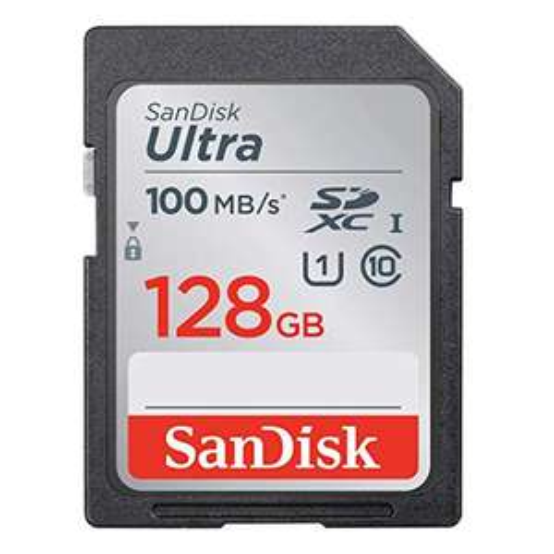 [Prime] SanDisk Ultra 128 GB SDHC Klasse 10 UHS-I