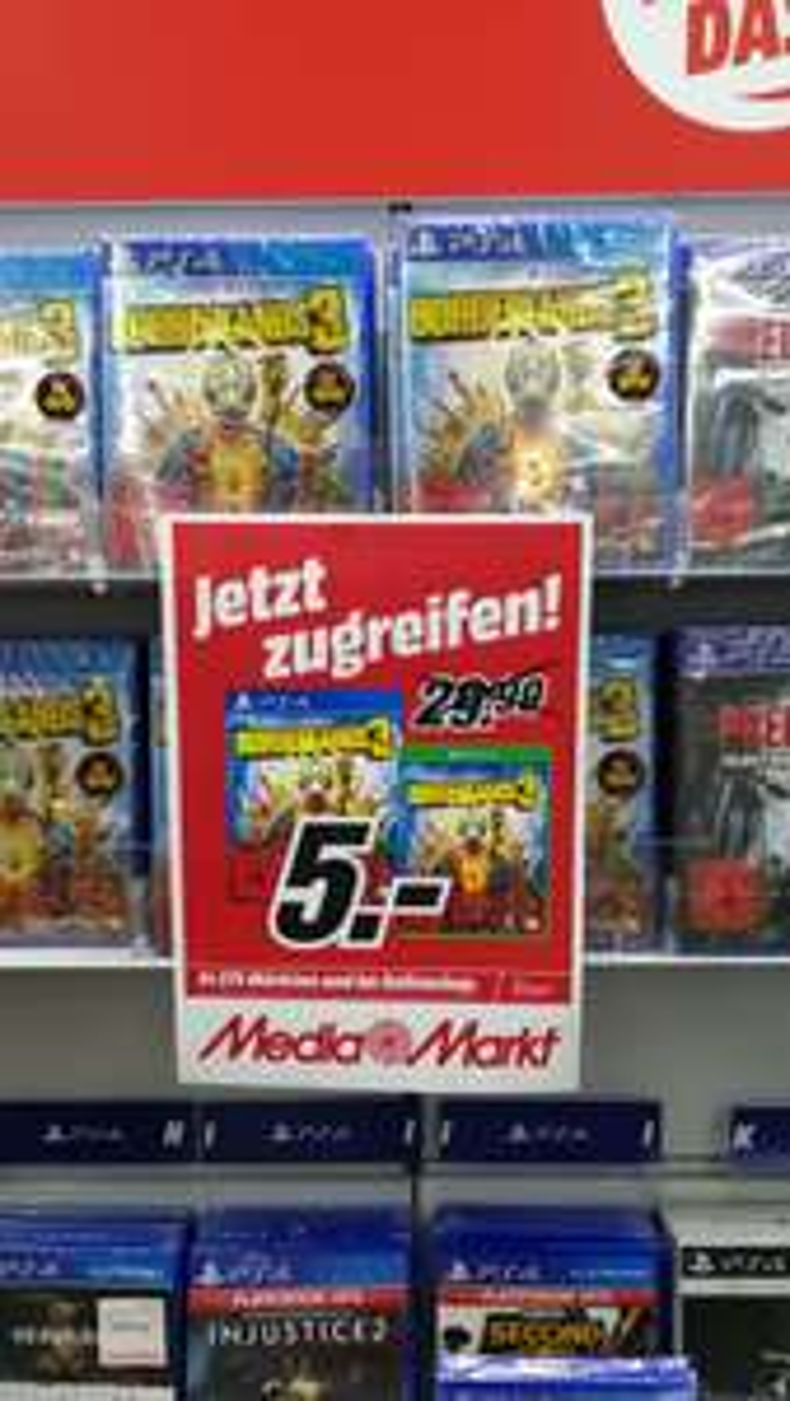 [(Lokal) MM Paderborn] Borderlands 3 (Ps4/Xbox) für 5€