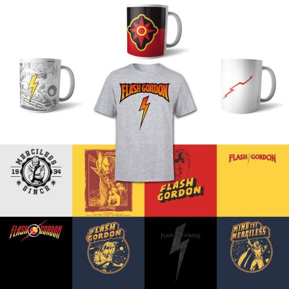 Flash Gordon T-Shirt + Tasse für 11,48 € @ Zavvi
