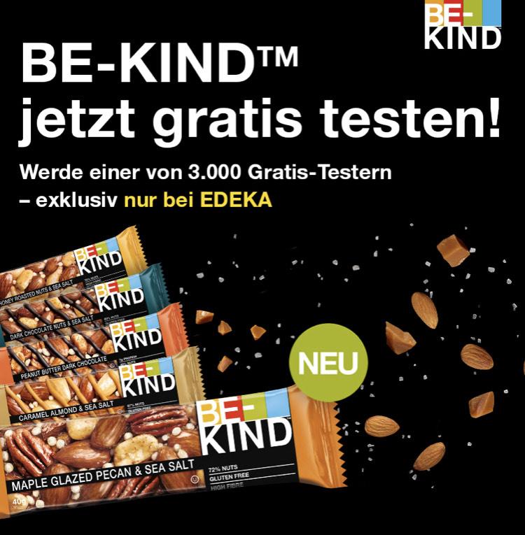 (EDEKA) BE-KIND-Riegel gratis testen / Cashback / Freebie über Kaufda