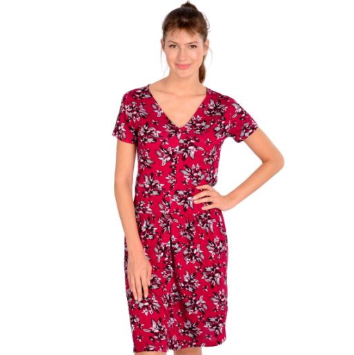 50% Rabatt on top auf reduzierte Ware bei Ernstings Family, z.B. Damen Kleid mit floralem Allover-Motiv [On- & Offline]