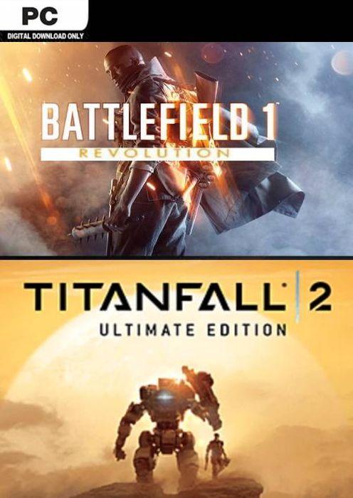 [PC-Origin] Battlefield 1 Revolution & Titanfall 2 Ultimate Edition Bundle 7,79€ at CDKeys