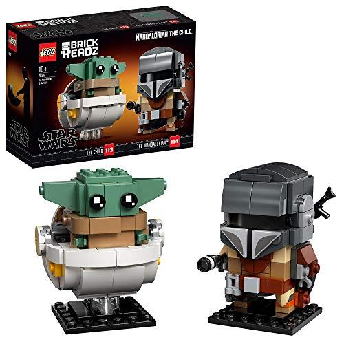 LEGO BrickHeadz Star Wars - Der Mandalorianer und das Kind (75317) für 14,61€ (Amazon Prime)