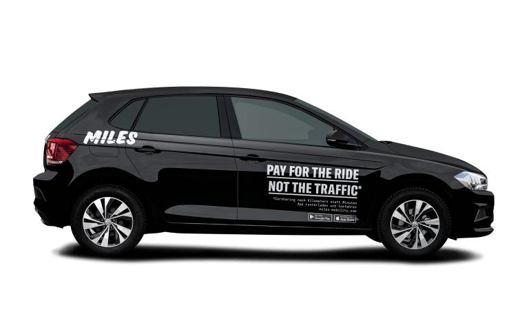 15€ Neukundenrabatt für MILES Carsharing