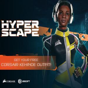 Hyper Scape CORSAIR Kehinde exklusive Skin kostenlos