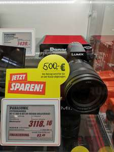 [Media Markt] Panasonic LUMIX S1 Kit mit 24 105mm Objektiv (Lokal Rosenheim)