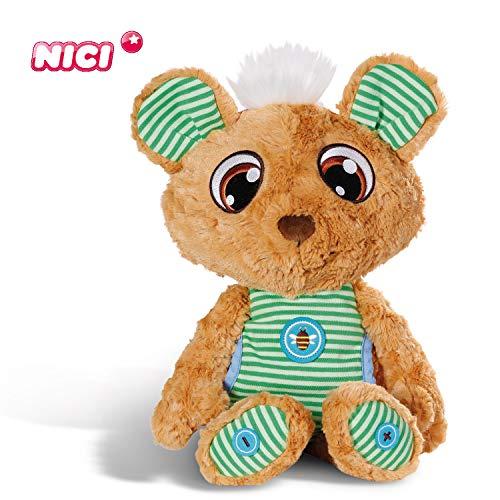 NICI Schlafmützen Schlummergeschichten-Bär Schlummsi in grünem Pyjama - Kuscheltier Teddybär für 19,50€ (Amazon Prime & Müller Abholung)