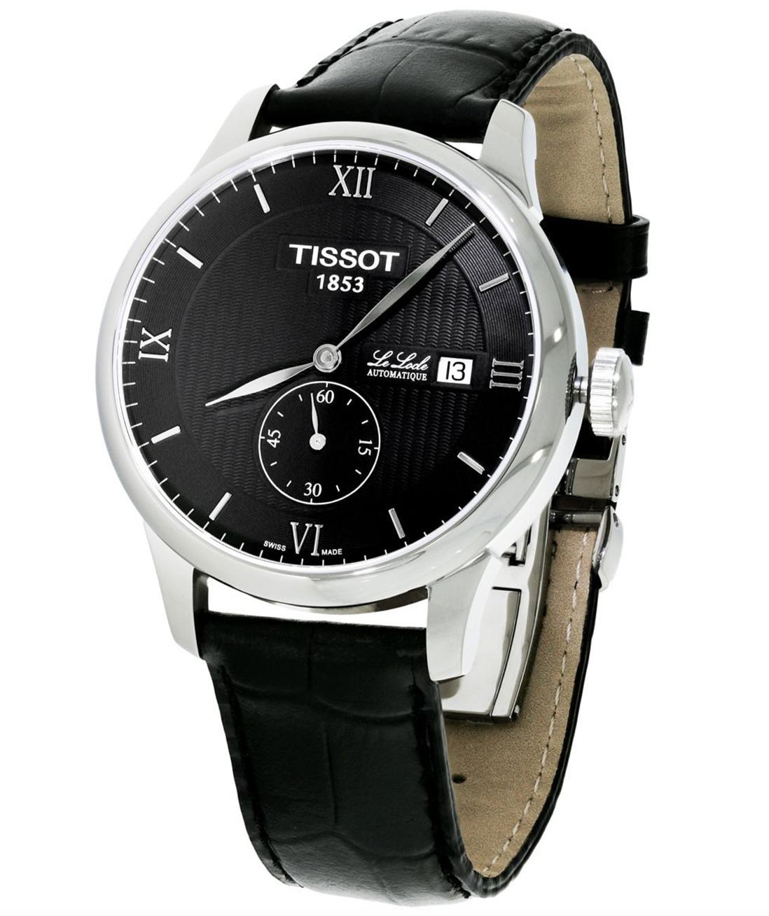 Tissot T Classic Le Locle Automatic Petite Men's Watch ( T0064281605801, Saphirglas, Gehäusebreite: 40 mm (ohne Krone), 3 bar / 30 m )