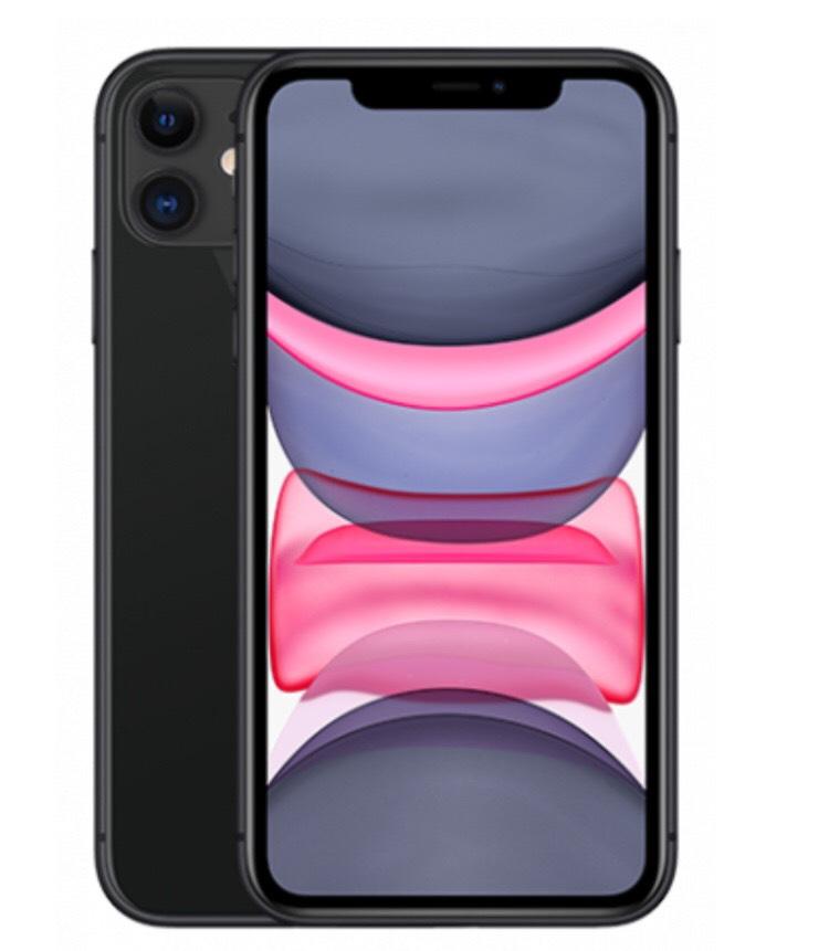 Apple iPhone 11 64GB schwarz für 49€ einmalig und 36,99€ monatlich im Vodafone Smart L+ (15GB) / 14,24€ monatlich nach Ankauf