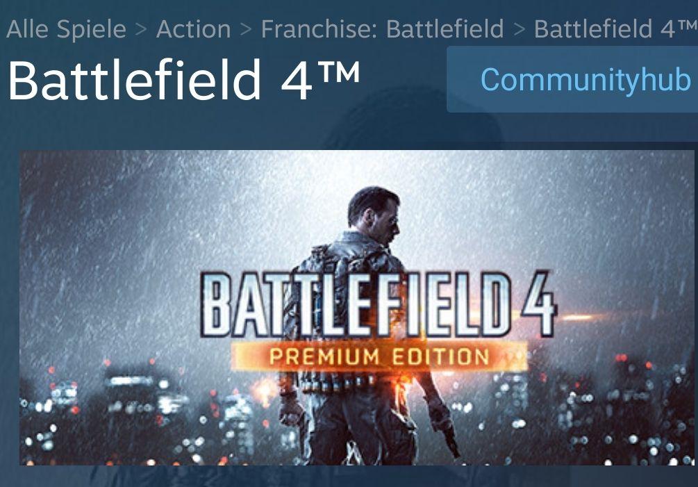 Battlefield 4 Premium Edition für pc