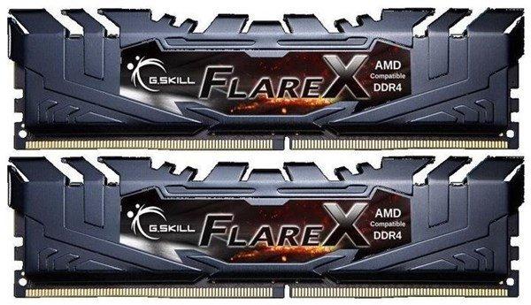 G.Skill Flare X schwarz DIMM Kit 16GB, DDR4-3200, CL14-14-14-34 (F4-3200C14D-16GFX)