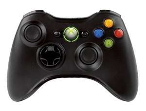 Xbox 360 Wireless Controller schwarz