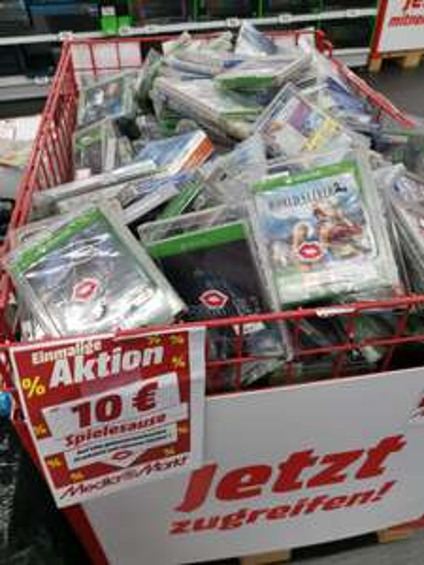 LOKAL Media Markt Karlsruhe Bulach - diverse Ps4, Xbox One und Switch Spiele für 10€