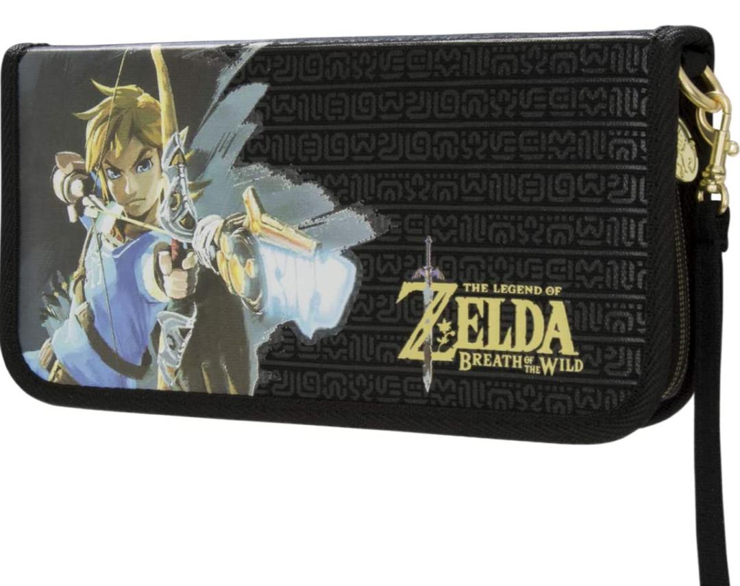 Nintendo Switch The Legend of Zelda: Breath of the Wild Premium Reiseetui für Konsole und Spiele Prime