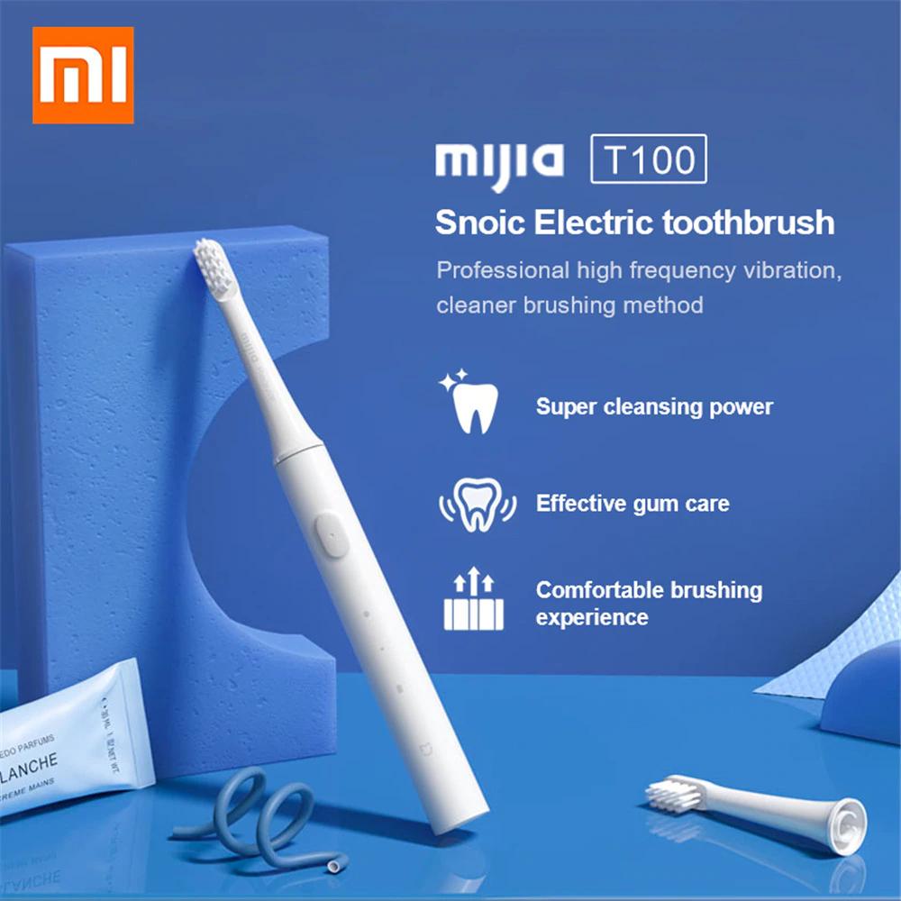 Xiaomi Mijia T100 Mi - Elektronische Zahnbürste für 6,56€ inkl. Versand (Aliexpress)