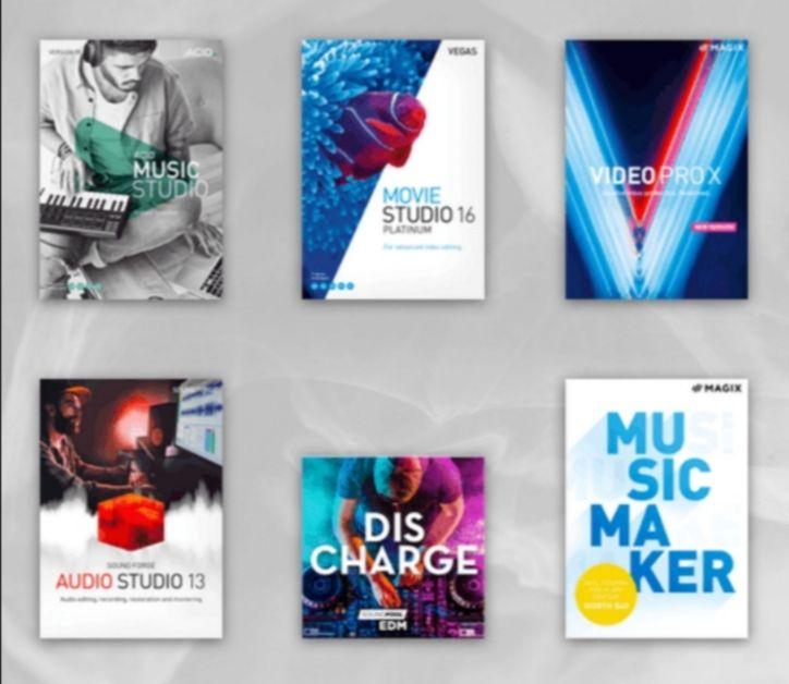 Humble Software Bundle: Magix Video Pro X 11 - ACID Music Studio 11 - Magix Music Maker