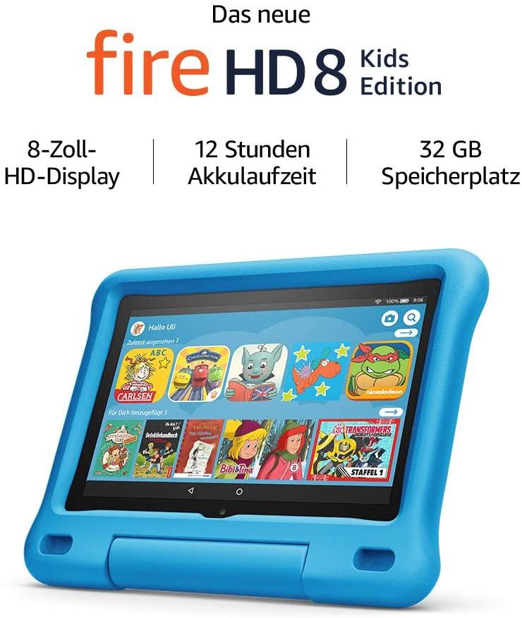 Amazon Fire HD 8 Kids Edition (2020) in versch. Farben [Amazon]