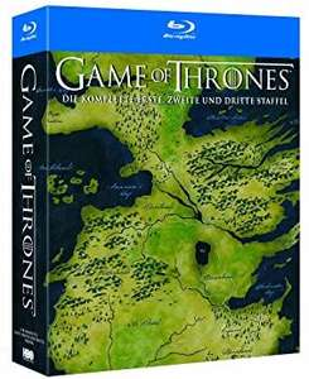 Game of Thrones Staffel 1 - 3 (15 Blu-ray) (Amazon)