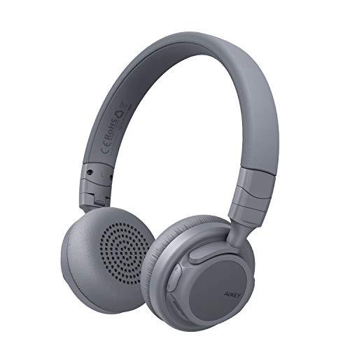 AUKEY Bluetooth Kopfhörer Kabellos on Ear, Dual 40mm