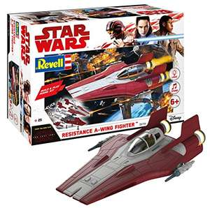 [AmazonPrime] Revell Build & Play - Star Wars Resistance A-wing Fighter in rot - 06759, Maßstab 1:44