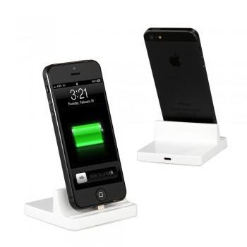 8pin Dockingstation Ladegerät für iPad mini, iPhone 5, iPad 4 für 7,73€