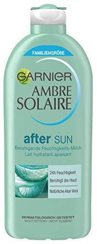 Amazon: 25% Coupon auf Sparabos + 10% Sparabo-Rabatt auf Körperpflege-Produkte, z.B.Garnier Ambre Solaire After Sun Feuchtigkeits-Milch