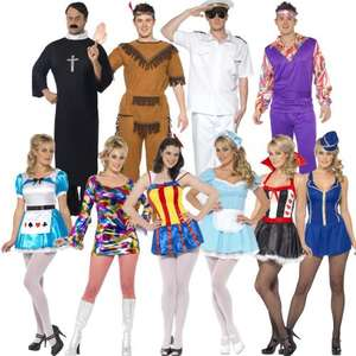 Karnevalskostüm Smiffys - 10 verschiedene Modelle für nur 12,99 EUR inkl. Versand!