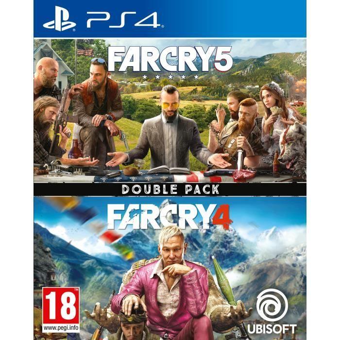 Far Cry 5 + Far Cry 4: Double Pack (PS4) für 19,11€ (Cdiscount)
