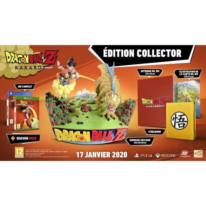 Dragon Ball Z: Kakarot Collector's Edition (PS4) für 138,84€ inkl. Versand (Cdiscount)