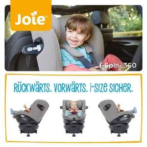 Joie i-Spin 360 Coal oder Gray Flannel