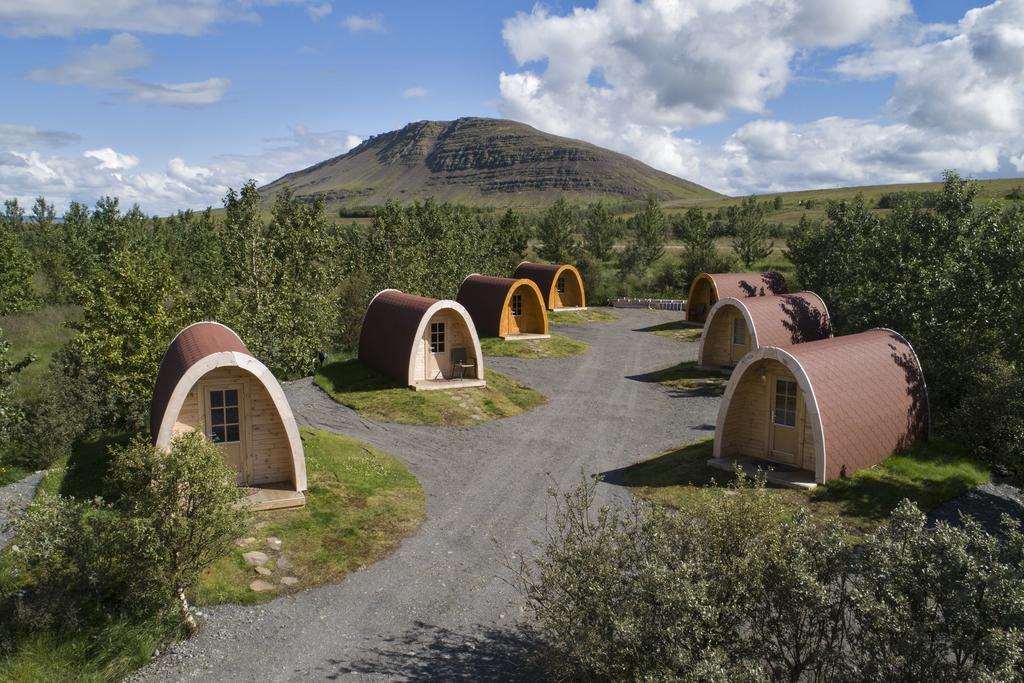 39€ (19,5€ p.P.) für Glamping Pods auf Island. Kostenlos stornierbar