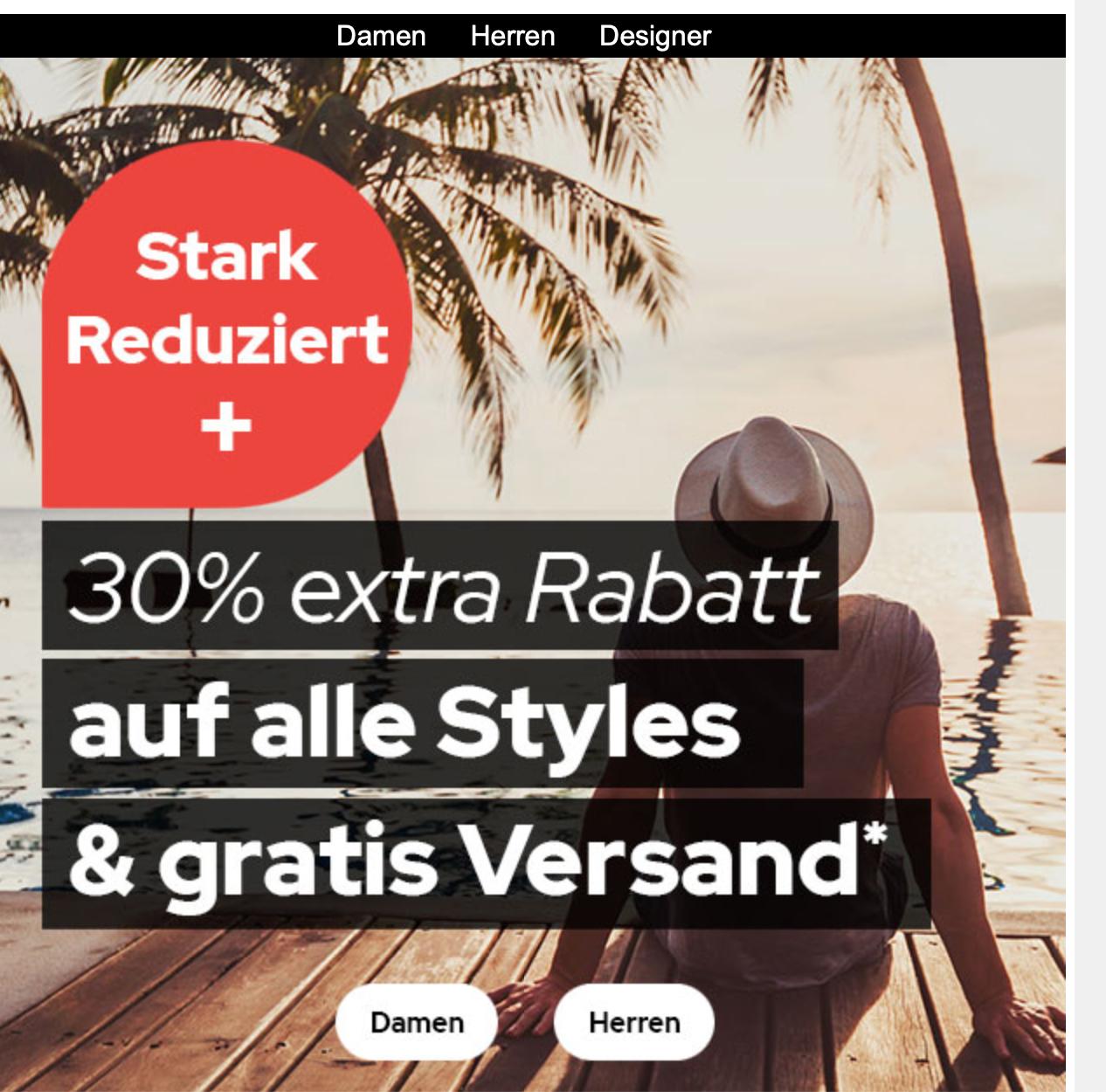 50% Summer Sale + Rabatte bei Dress-for-less