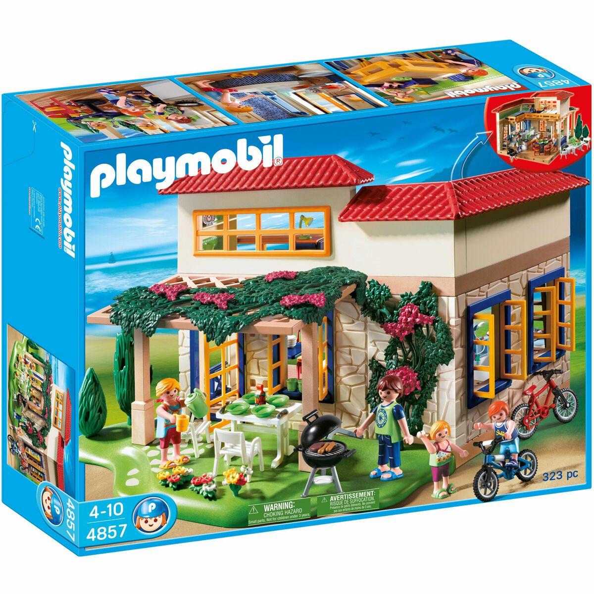 PLAYMOBIL Family Fun - Ferientraumhaus 4857 für 29,99€ (ohne Kundenkarte 35,94€) @Galeria