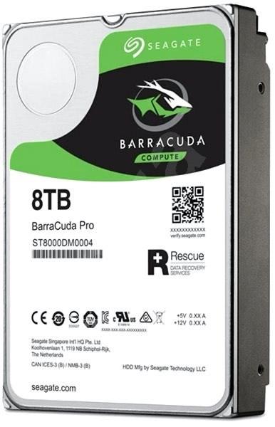 [real marketplace] Seagate BarraCuda Pro 8 TB desktop Festplatte ST8000DM0004