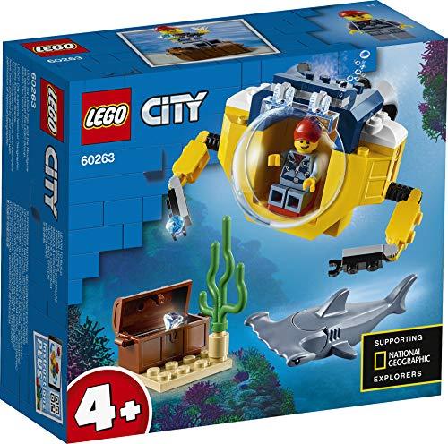 LEGO City - Mini-U-Boot für Meeresforscher Unterwasser-Set (60263) für 7,28€ (Amazon Prime)