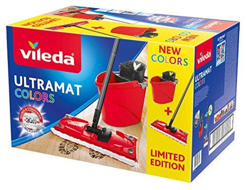 Vileda Ultramat 2in1 Komplett Set, Bodenwischer und Eimer mit PowerPresse für 18,99€ (Amazon Prime & Real Abholung)
