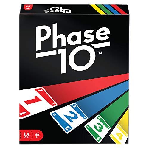 Mattel Games - Phase 10 Kartenspiel und Gesellschaftspiel für 7,01€ (Amazon Prime)