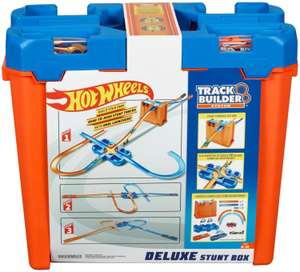 Hot Wheels Track Builder Deluxe Stunt Box (GGP93) inkl. 2 Autos für 25€ (Amazon Prime & Real Abholung)