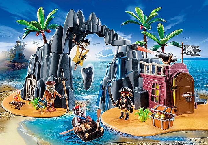 Playmobil Piraten-Schatzinsel Produktnr.: 6679