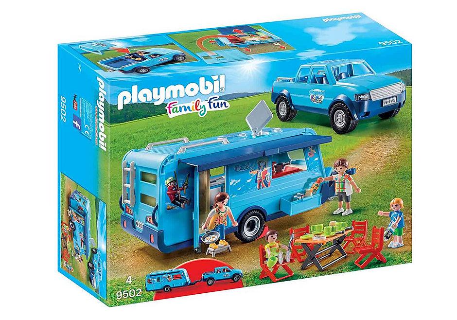 Playmobil Family Fun - Pick-Up mit Wohnwagen (9502) für 24,24€ (Playmobil Shop)