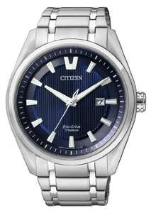 Citizen eco-Drive Titan blaues Ziffernblatt