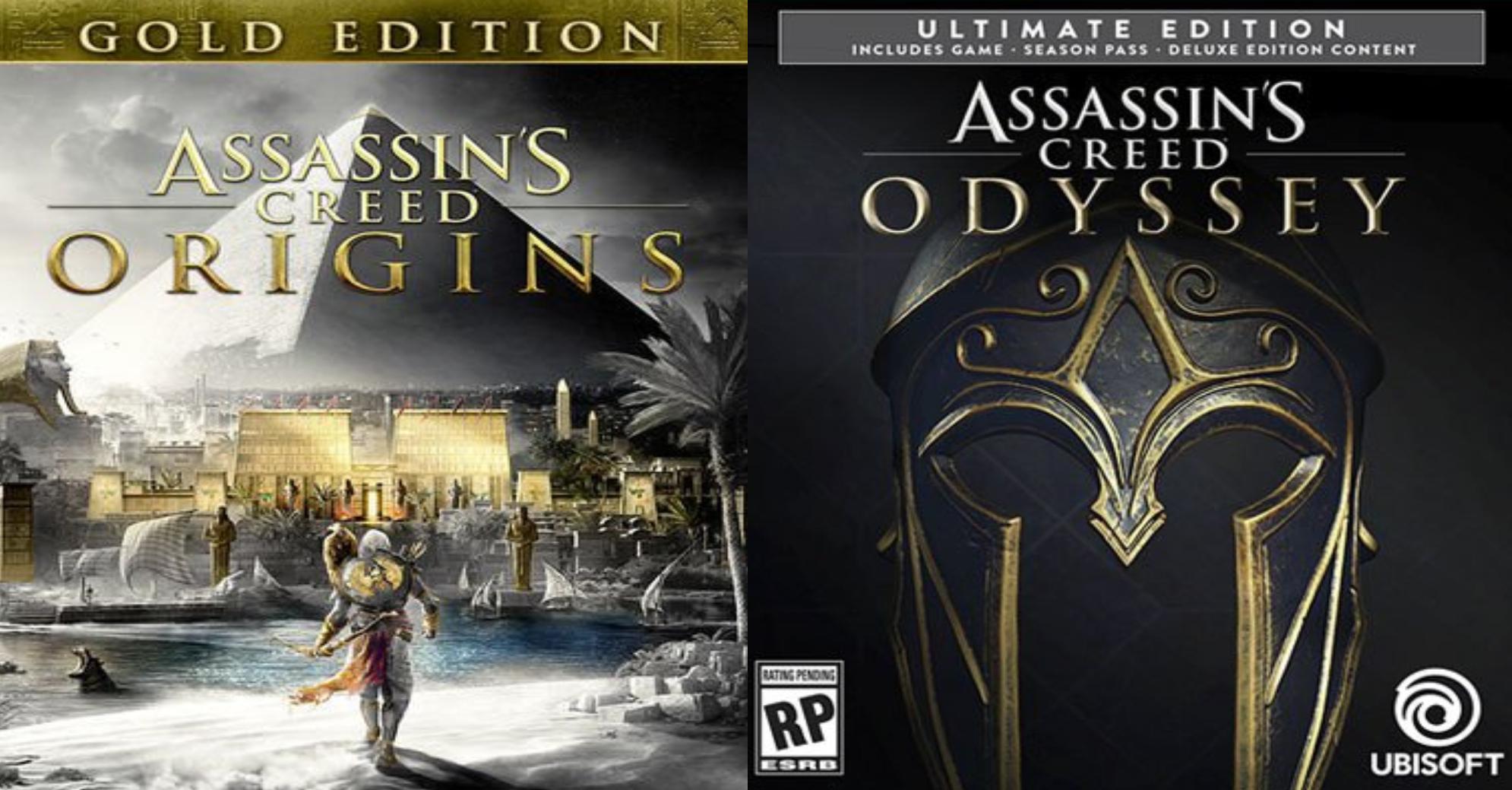 [GOLD] Assassins Creed Odyssey Ultimate für 11,78 € und Assassins Creed Origins Gold für 9,43 € auf Xbox One (Store Brazil)