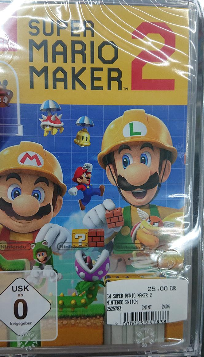 [Lokal MM-Weiterstadt] Super Mario Maker 2 (Switch) (Standard Edition)