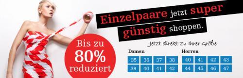 Lagerverkauf bis zu -80% auf Schuhe bei Mirapodo + 10€ Neukunden Gutschein