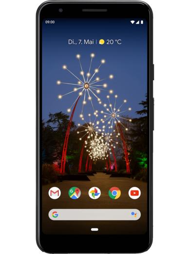 Google Pixel 3a (64 GB, weiß oder schwarz) für maximal 248,71€ per Ankaufsaktion, durch 100€ Bonusaktion von mobilcom-debitel