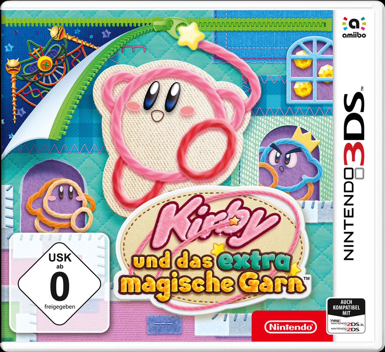 Kirby und das extra magische Garn & Miitopia (3DS) für je 14,99€ (Amazon Prime)