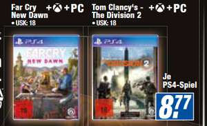 [lokal: expert hem] Far Cry: New Dawn (PS4 , XBO) - 8,77€ | Dishonored: Complete Collection / One Piece: Pirate Warriors 4 - 26,32€ u.a.