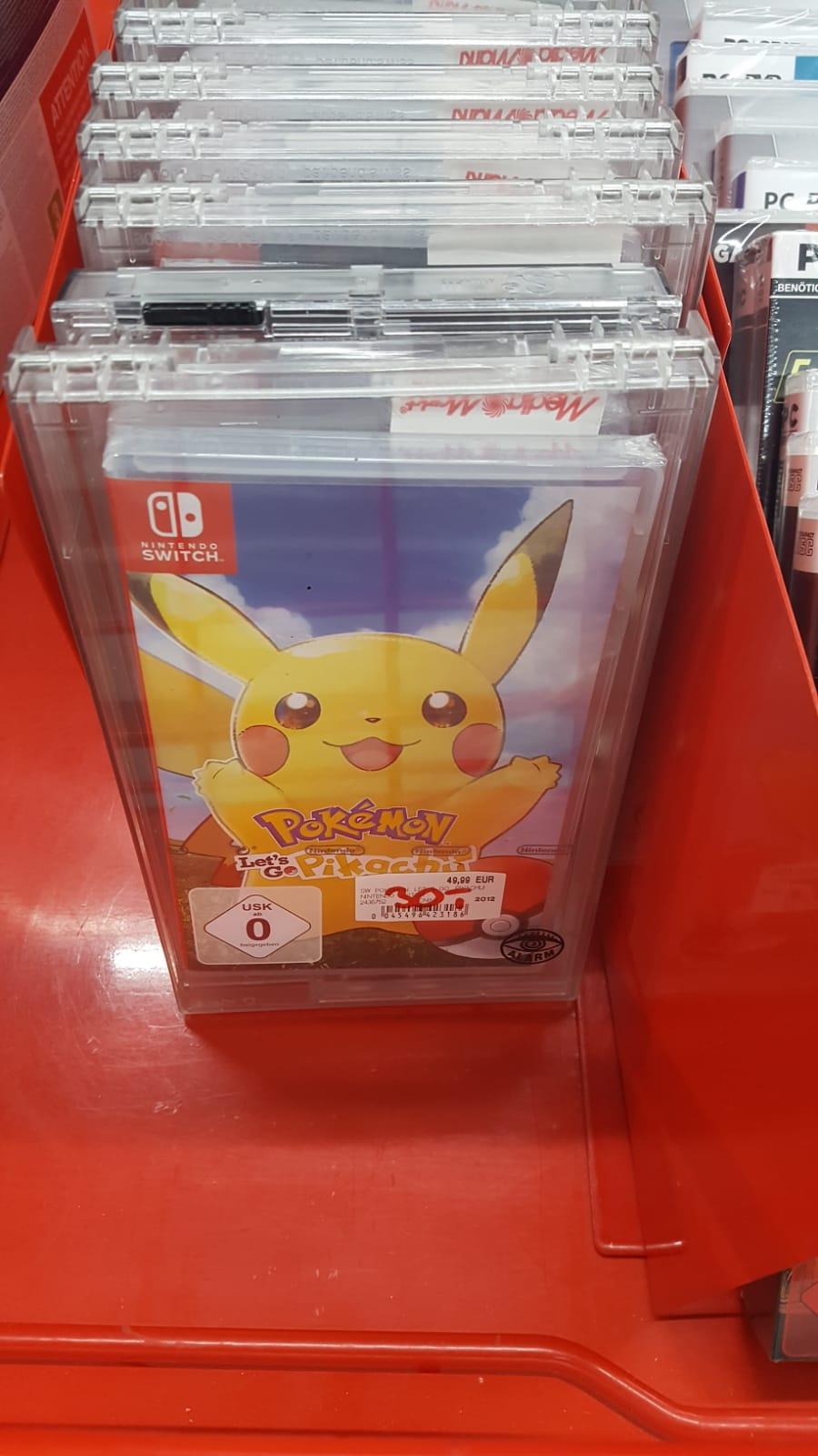 [Lokal MM Weil] Switch Spiele (Pokemon Let's Go Pikachu, Overwatch, etc) im Angebot